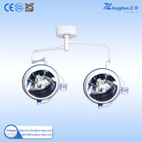 Ceiling mounted Double head Halogen Operation Theatre Lamp OT Light EXF700/700