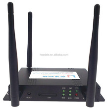 3G WCDMA wireless router and DTU with RS232 /RS485 /WAN /LAN interface