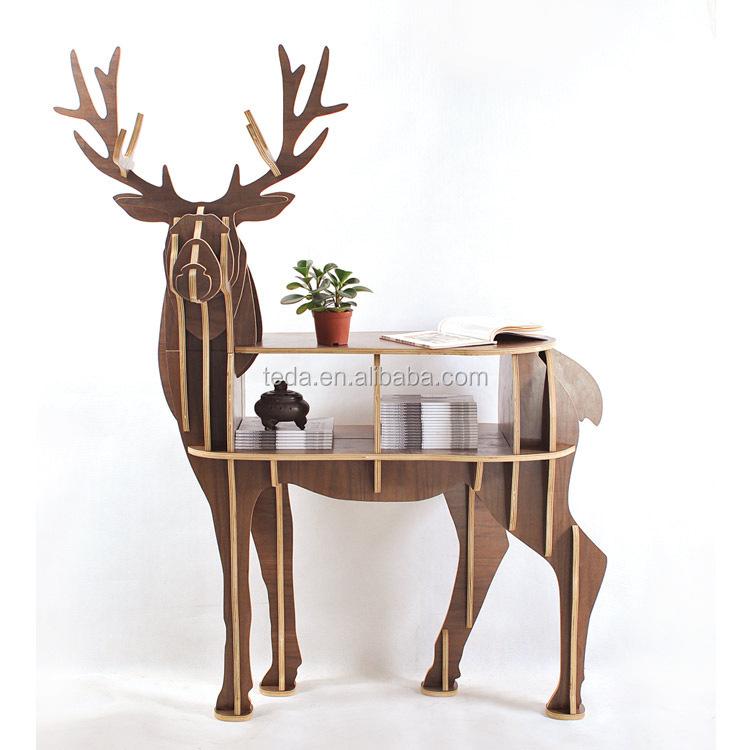 FREE-SHIPPING-Christmas-deer-table-European-DIY-Arts-Crafts-Home-Decorative-elk-wood-craft-gift-desk.jpg