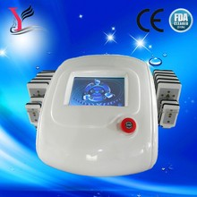 Portable salon use 650nm diode lipo laser slimming machine