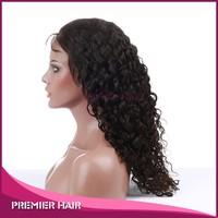 "malaysian virgin hair full lace wig 10"" hot saxy quality 100% human hair brazilian curl 100 human hair lace wig natural cheap"
