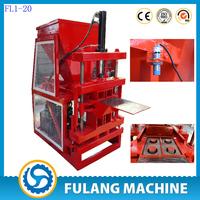 FL2-10 interlocking brick making machine soil brick making machine in india price