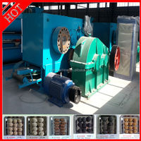 Oval and pillow shape small charcoal powder briquette machine