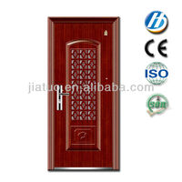 S-30 door knob lock security door iron grill design metalic steel door