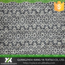 87029 cotton embroidery chenical manufacturers guipure supplier net organza mesh lace fabric plastic lace rolls