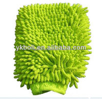high quality microfiber chenille car wash mitt