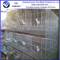 China factory wholesale stainless steel 3 story rabbit cages easy clean