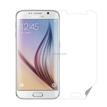 Sample Free! Brand VMAX High Transparant Full Curved Waterproof PET mobile phone screen protector for Samsung S6