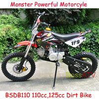 2015 New Moto Bike 110cc 125cc Dirt Bike with 17 Inch 14 Inch Wheel