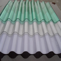 Color Corrugated Metal Sheets for roofing