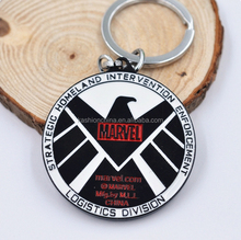 Metal Marvel Agents of S.H.I.E.L.D. Logo Keychain