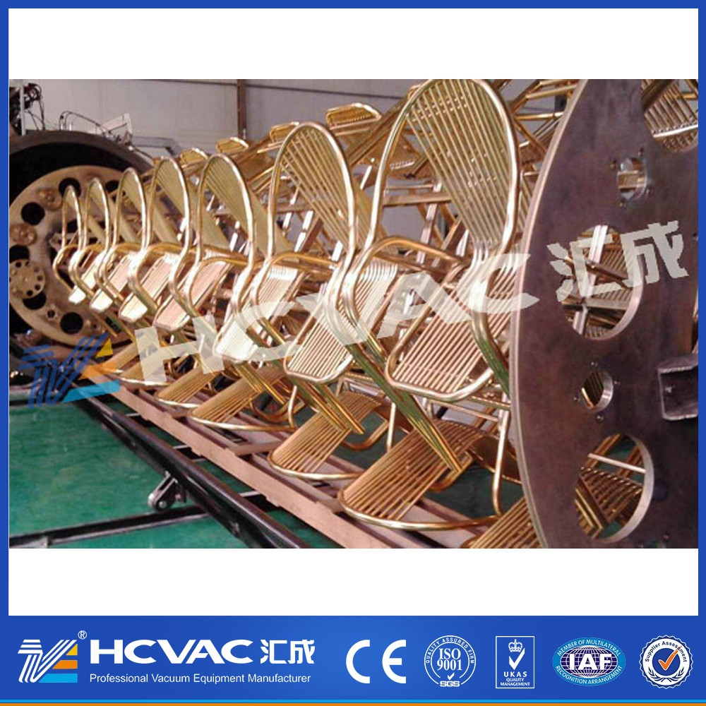 PVD titanium coating machine for chairs