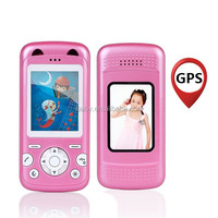 Small size low radiation long standby time mobile phone for kids