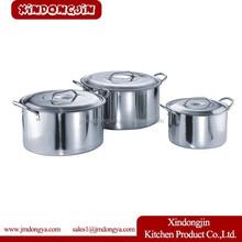 TB-5028 commercial steamer pots 30 liter stainless steel stock pot