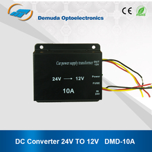 High Voltage Step Down dc 24v to dc12v converter 10A
