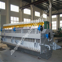 High pressure head box in long mesh paper making machine