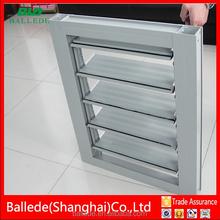aluminium adjustable louver window