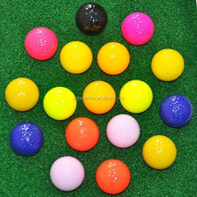 Colored Tournament Golf Ball