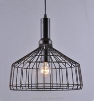 modern designer lighting industrial lighting black color industrial wire pendant lighting