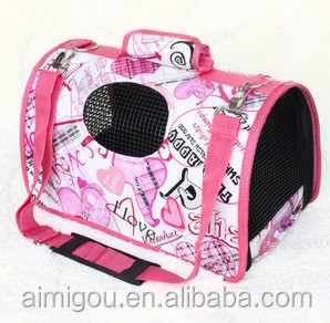 Hot pet products foldable luxury pet carrier / cat carrier dog carrier bag