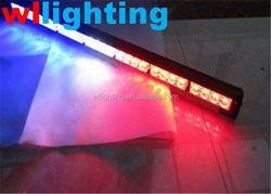 top quality 32LED Directional Warning Strobe Red/Blue and Red/Red LightBar Light Bar