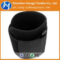 braided black fabric elastic band for sports