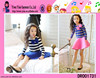 Summer Fashion Long Sleeve Cotton Skirts High Quality Latest Design Kids Frocks