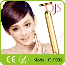 China supplier Health care Gold Energy Beauty Bar Massage/Skin Tightening/Face Slimming T shape