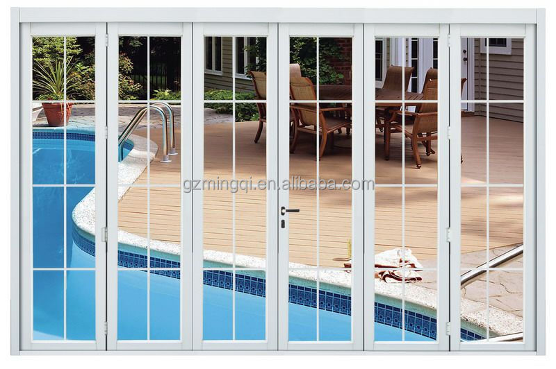 Hot sell inward opening aluminum interior double swing for Inward opening french doors