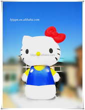 High quality Outdoor Inflatable hello kitty