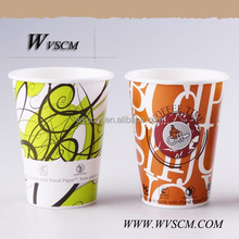 2015 Hot Sale Coffee Cups Paper Hot Drink Diposable Paper Cups