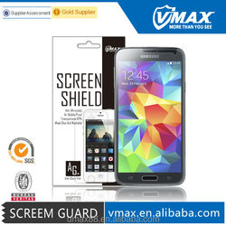 9 Years Factory Supply Clear Anti-Glare Waterproof Cell Phone for Samsung S5 Galaxy screen protector