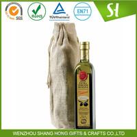 Alibaba Wholesale China Wine Bag laminated jute bags
