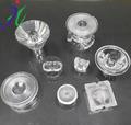 Aceptar personalizar diferentes tipos de acrílico led lente, de calle del led de luz de la lente, led lente óptica