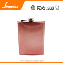usa hot sale stainless steel hip flask painting 2015