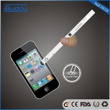 BUD touch e cigs with touch pen big vapor long life using patent open e cig atomizer from China Buddy