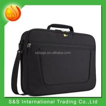2015 hot sale 15.6 inch classic black practical design laptop bag