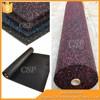 crossfit gym flooring used/shockproof rubber sheet roll