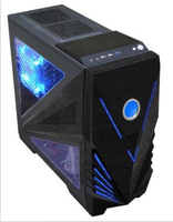 Super LCD display high quality Unique ATX Cooling gamer computer case