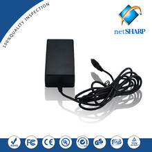 new high efficiency 24w switching mode power supply saa 12v 5a ac adapter with 5.5*2.1mm connector