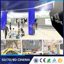 Lechuang Newest 8D/9D/Xd Cinema Theme Parks 3 Dof/6 Dof 7D Cinema Project