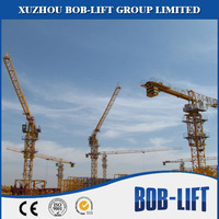 Luffing jib used tower cranes for sale in dubai moving tower crane price