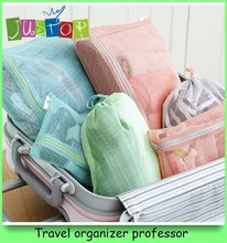 4 in 1 mesh slim bag organizer for travel