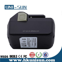 Rechargeable Lithium Ion 18v 4.0Ah Replacement Power Tool Battery Packs for Hitachi BSL1830 BSL1840 BSL1815X