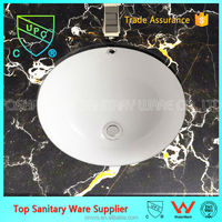 Hot selling of american standard upc under counter basin