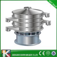 China mini Ce xxsx hot vibrating screen for washing powder lump removal
