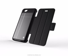 2015 Newest solar battery charge phone case for iphone 6 4.7 solar mobile phone battery charger case for iphone 6