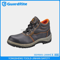 GuardRite italian genuine leather men shoes,oil industry safety shoes