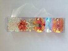 Plastic Multi Ribbon Roll, Wholesale Christmas Decoration Star Bow