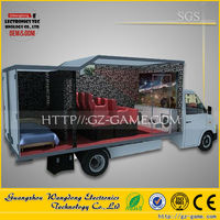 Hot sale 5d 7d 9d cinema on truck /movie equipment/truck mobile cinema for sale